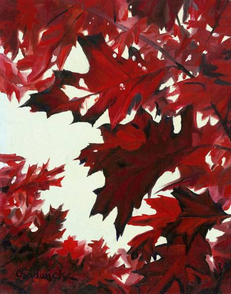 Painting - Oaktober Colours by Phil Chadwick