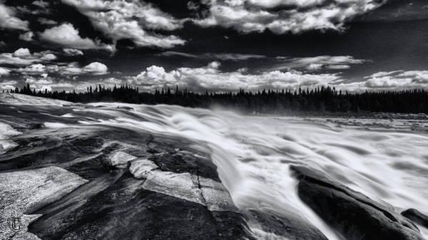 Digital Art - Oatmeal Rapids by Patrick Groleau