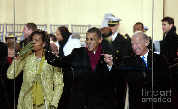 Photograph - Obama Inaguration, 2009 by Carol Highsmith