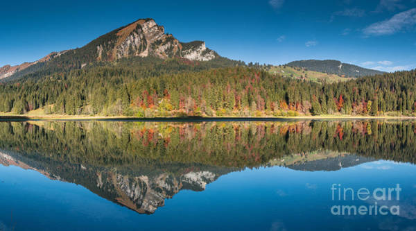 Swiss Alps Wall Art - Photograph - Obersee Reflections by DiFigiano Photography