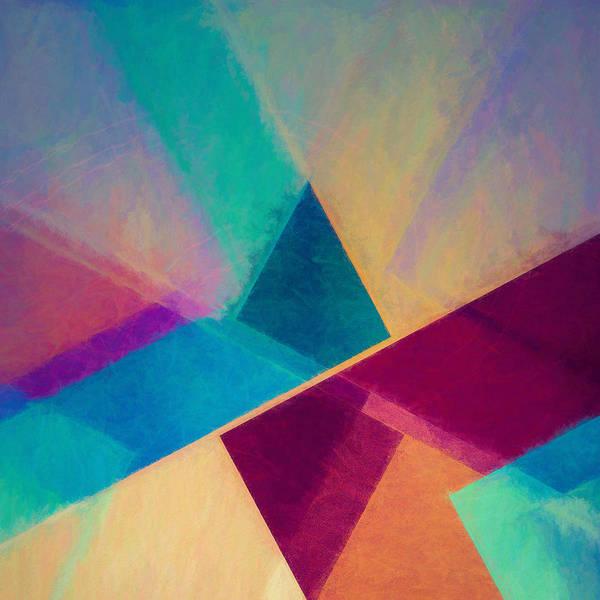 Pastels Digital Art - Obliquities by Jon Woodhams
