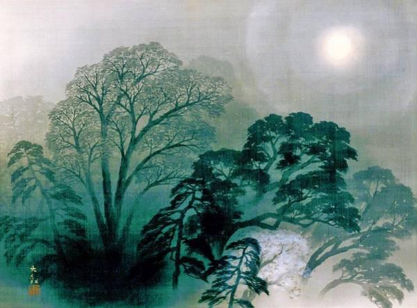 Wall Art - Painting - Oboroyo - Top Quality Image Edition by Yokoyama Taikan