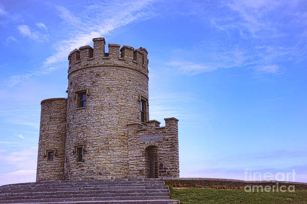 Wall Art - Photograph - O'brien's Tower At The Cliffs Of Moher by Olivier Le Queinec