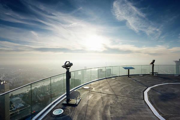 Binoculars Photograph - Observation Deck by Jorg Greuel