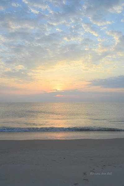 Photograph - Obx Sunrise 2019 by Barbara Ann Bell