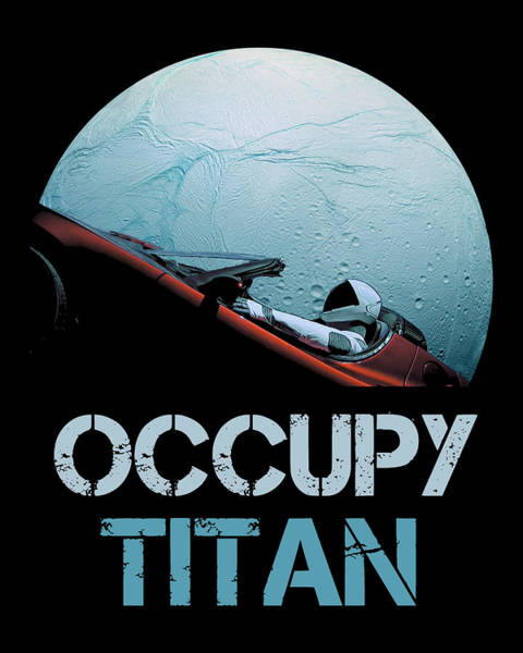 Wall Art - Photograph - Occupy Titan by Filip Hellman