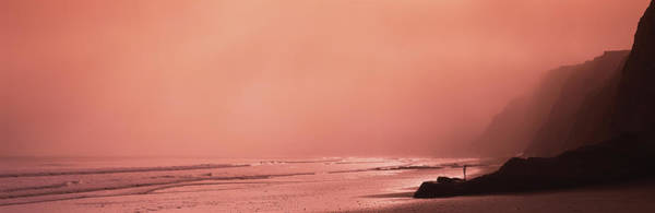 Wall Art - Photograph - Ocean At Dusk, California, Usa by Panoramic Images