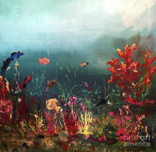 Painting - Ocean Beauty by Miroslaw  Chelchowski