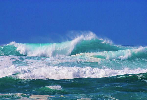 Photograph - Ocean Blue by Anthony Jones