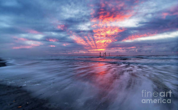 Photograph - Ocean City Lights by DJA Images