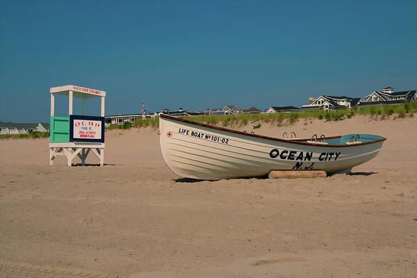 Photograph - Ocean City Park Place Beach by Kristia Adams
