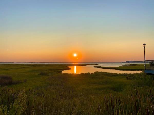 Photograph - Ocean City Sunset 2019 by Chris Montcalmo