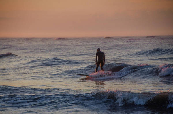 Photograph - Ocean City Surfing by Bill Cannon