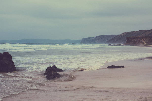 Photograph - Ocean Coast I by Anne Leven