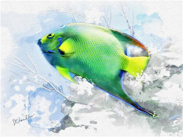 Painting - Ocean Colors by Diane Chandler