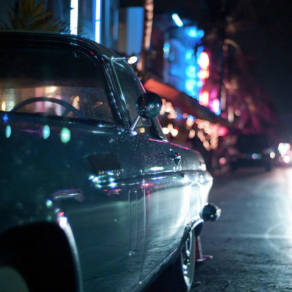 Mode Of Transport Photograph - Ocean Drive, Miami by Pol Úbeda Hervas Photo