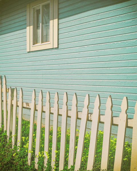 Picket Fence Photograph - Ocean Front Picket Fence by Joseph Smith