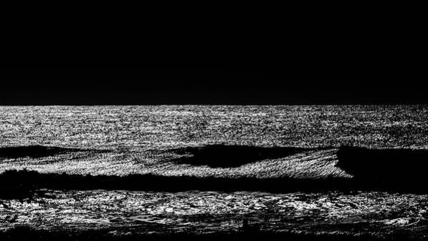 Photograph - Ocean In Black And White by Jorg Becker
