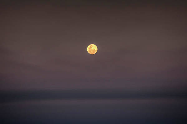 Photograph - Ocean Moon by Uncle Arny