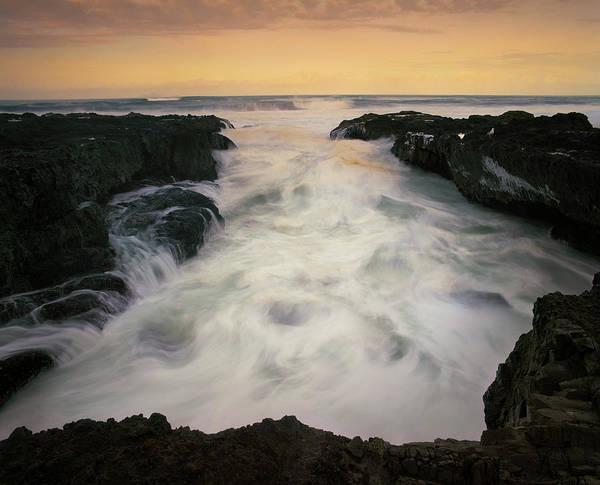 Cape Perpetua Wall Art - Photograph - Ocean Power by Zeb Andrews