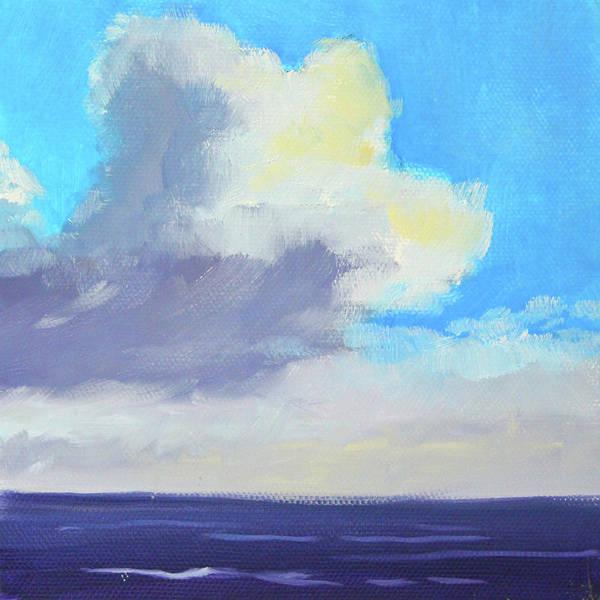 Wall Art - Painting - Ocean Sky by Nancy Merkle