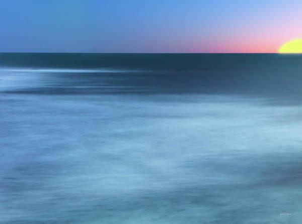 Photograph - Ocean Sun by Leland D Howard