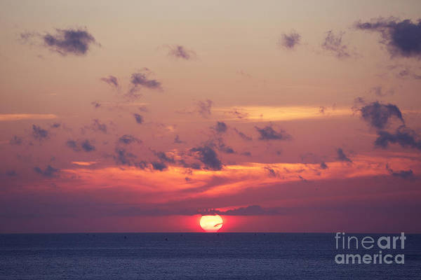 Wall Art - Photograph - Ocean Sunrise In Indonesia by Dmitry islentev