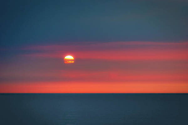 Atlantic Photograph - Ocean Sunrise by Tom Mc Nemar