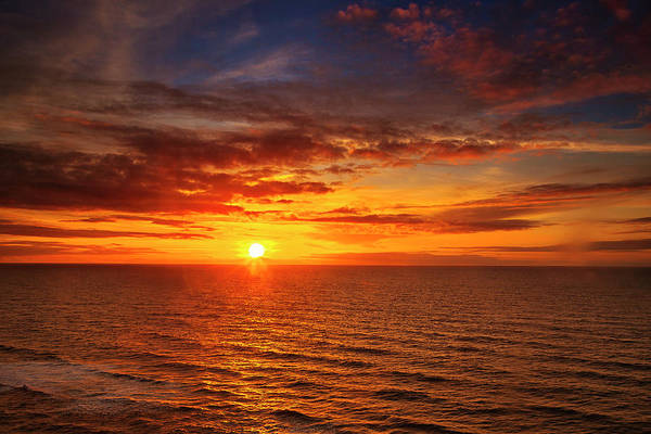 Wall Art - Photograph - Ocean Sunset by Andrew Soundarajan