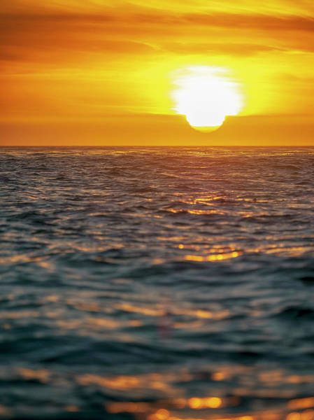 Wall Art - Photograph - Ocean Sunset by Steve Spiliotopoulos