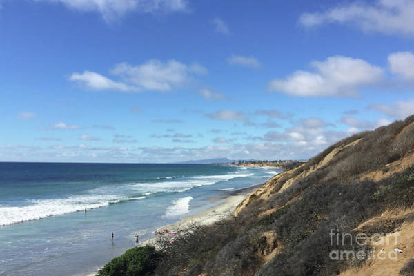 Digital Art - Ocean Surf In Carlsbad, California by Kirt Tisdale
