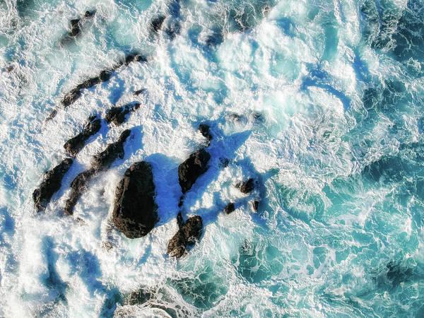 Photograph - Ocean Turbulence by Christopher Johnson