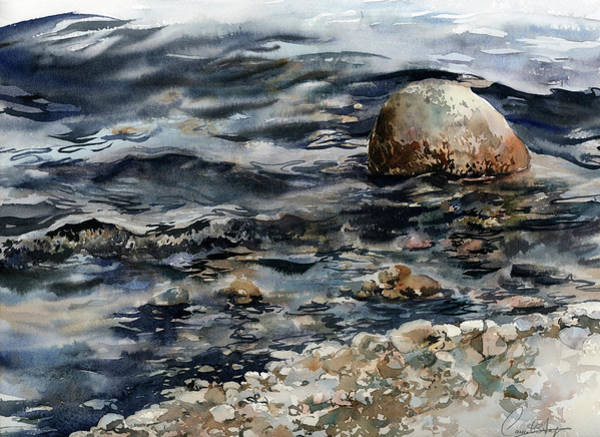 Wall Art - Painting - Ocean View by Sophia Rodionov
