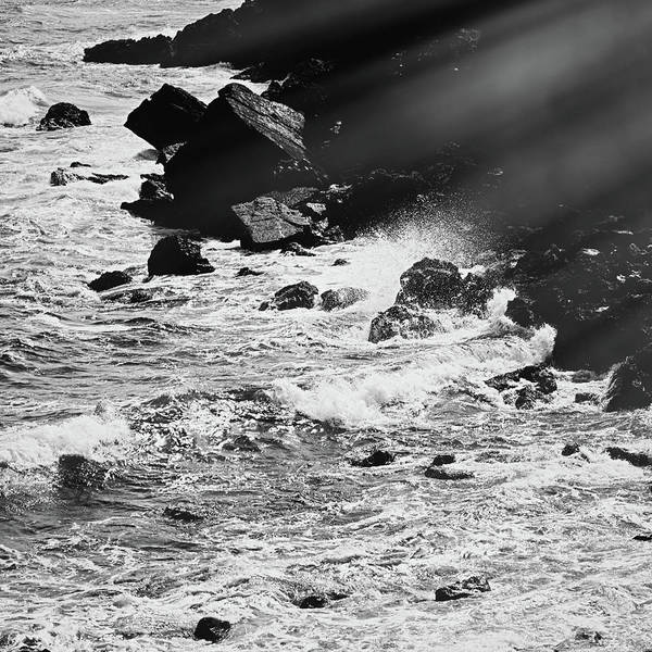 Photograph - Ocean Vintage IIi by Anne Leven