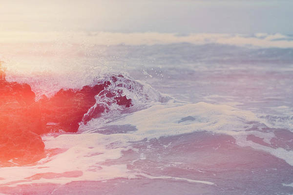 Photograph - Ocean Vintage Iv by Anne Leven