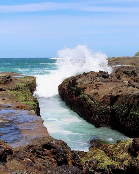 Photograph - Ocean Wave by Sarah Lilja