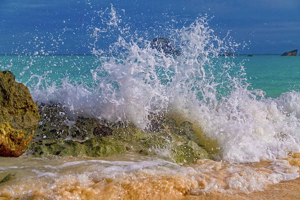 Wall Art - Photograph - Ocean Wave Splash by Betsy Knapp