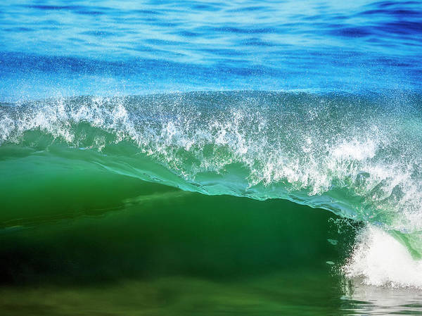 Wall Art - Photograph - Ocean Wave by Steve Spiliotopoulos