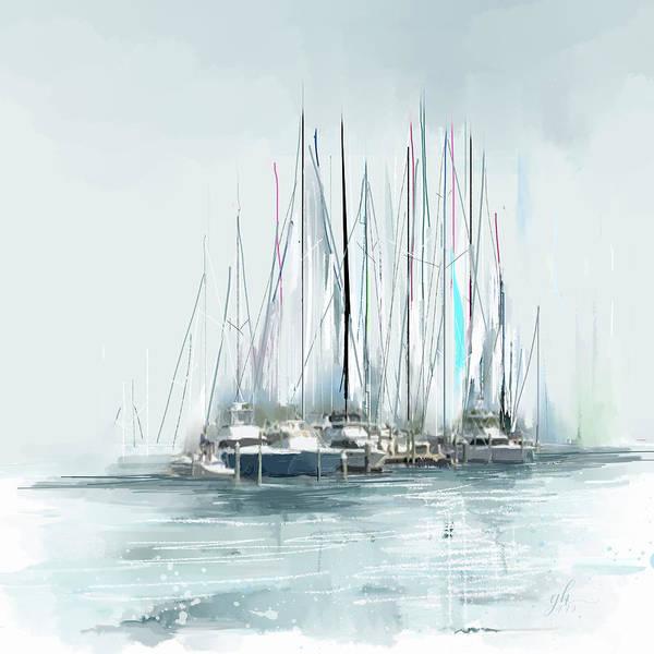 Digital Art - Oceana Idyll by Gina Harrison
