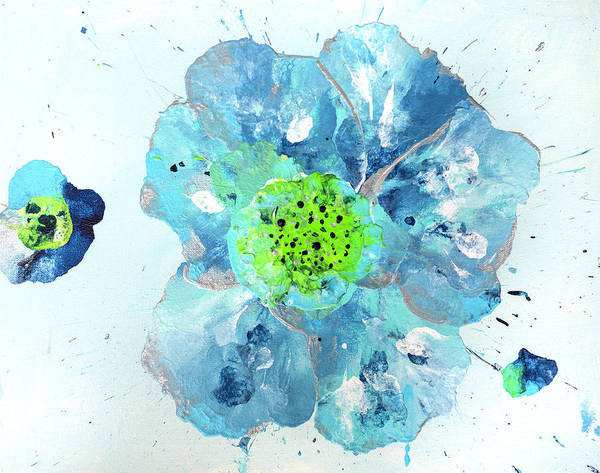 Mfa Wall Art - Photograph - Oceanbreeze Blue-green Windflower by Iris Richardson