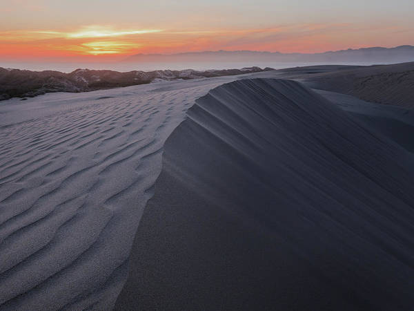 Oceano Dunes Sunset Art Print