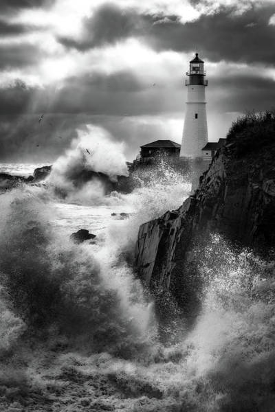Wall Art - Photograph - Ocean's Fury by Jeff Bazinet