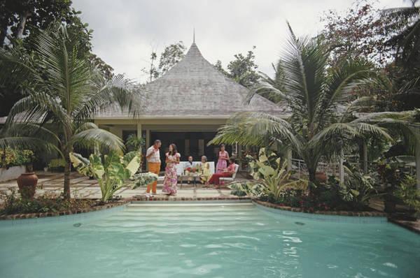 Villa Photograph - Ocho Rios, Jamaica by Slim Aarons
