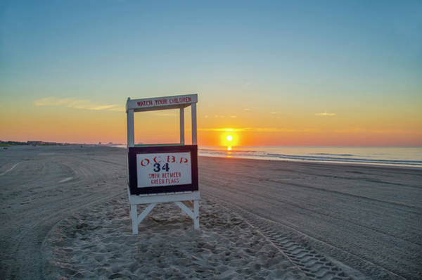 Photograph - Ocnj Sunrise by Bill Cannon