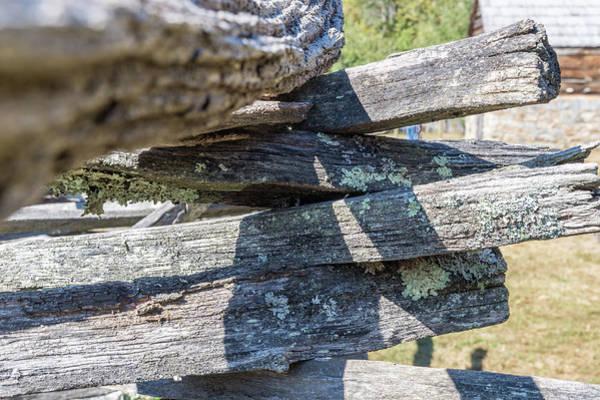 Oconaluftee Fence Art Print
