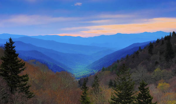 Photograph - Oconaluftee Sunrise by Dan Sproul