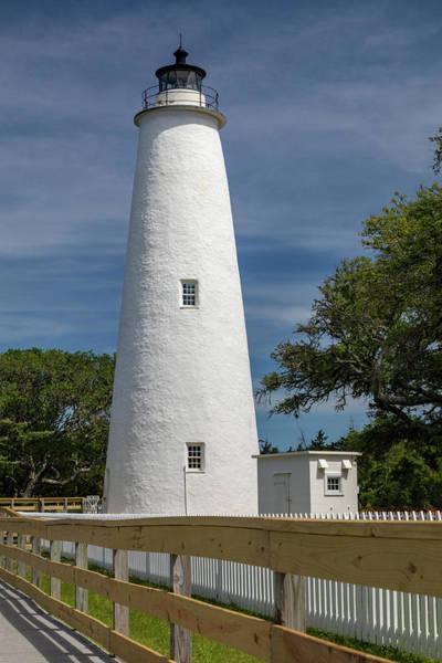 Ocracoke Lighthouse Photograph - Ocracoke Light by Claudia Domenig