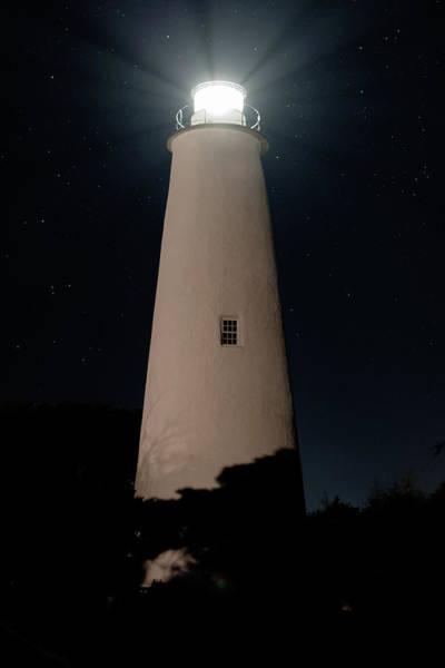 Ocracoke Lighthouse Photograph - Ocracoke Light by Liz Albro