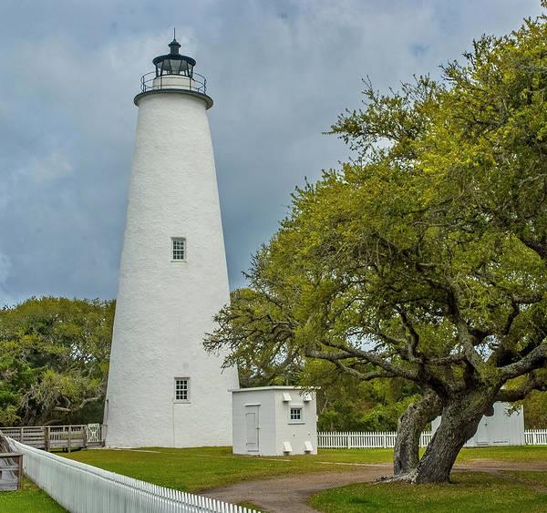 Ocracoke Lighthouse No 2 Art Print