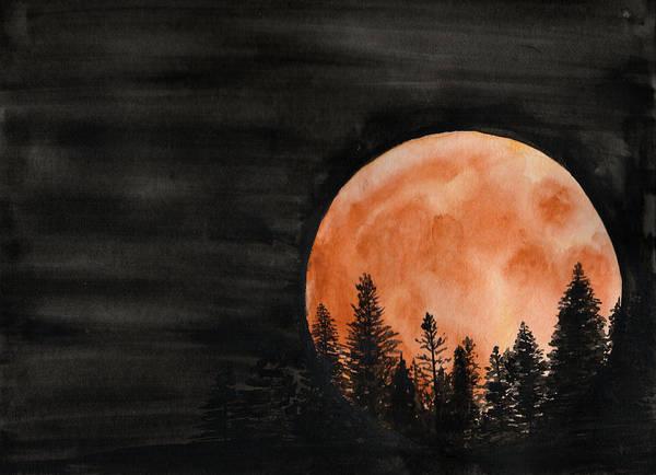 Painting - October 2018 by Betsy Hackett
